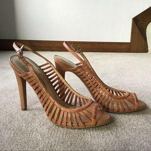 Jessica Simpson Nude Aricon Heels Sandals